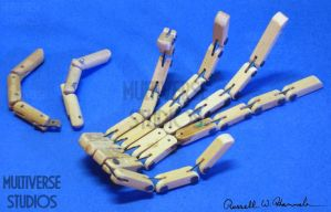 Crow T. Robot Hand Prototype by Weirdonian