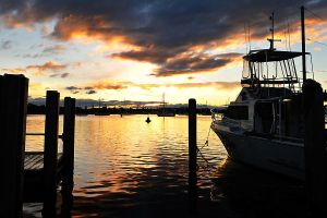 Waterfront sunset 1 - Port Macquarie by wildplaces