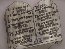Ghetto Commandments by happytoyzco