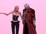 Trish and Dante forever by DanteDevilKnight