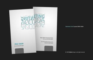 AS. Business Card Layout. by Dalash
