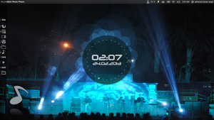 welcome screen desktop ubuntu by drashutoshkumarsingh