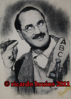 marx brothers groucho marx by ricardo-bruins