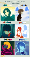 Pallette meme with YN characters by BakaNekoChanSan