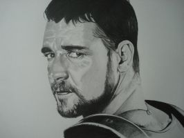 RUSSEL CROWE , the gladiator who defied an empire by ARTIEFISHEL79