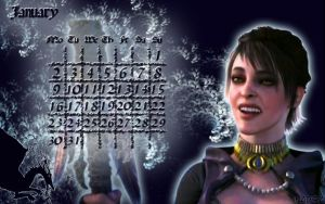 January '12 - Morrigan by Sorceress-Nadira