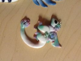 Polymer Clay Fairy Dragon by GlaceTheCat