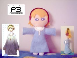 Persona 3 - Aigis Plush by collarander