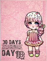 .: 30Days Adoptable Challenge - Day 18 {Closed} :. by Biiiscoito
