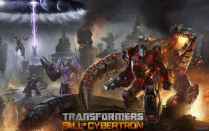 Transformers: Fall of Cybertron by gamergaijin