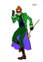 Riddler Redesign! by Comicbookguy54321