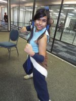 (LoK ) Korra Cosplay at Hurricon 2015 by KrazyKari