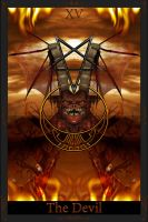 Tarot Card The Devil by KnightFlyte96