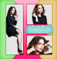 Png Pack 074 - Lily Collins by BestPhotopacksEverr