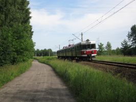 EN57-1543 to Bialystok II by Alexej555