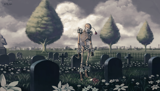 I can't hear the roses by Hallex