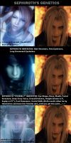 SEPHIROTH's GENETICS by D0omifyProductXIIInS