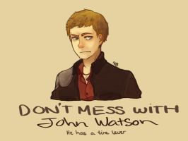 Johnwatson by camelliabei