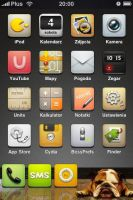 iPhone Theme by woocash-kun
