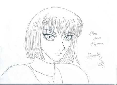 Clare from Claymore by IasminGloom