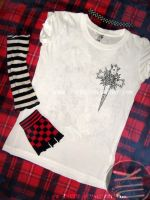 D.Gray Man T-shirt _front by KiuBe