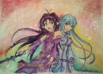 Asuna and Yuuki by realm-of-lost-minds