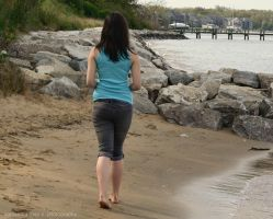 A walk down the shore by SamanthaRoseCPhoto