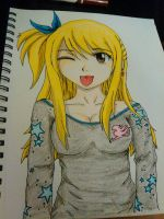 FT: Lucy in PJ's by Kimmichii