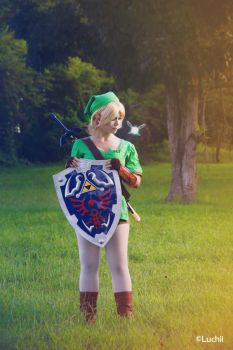 TLOZ Ocarina of time - Link (Female Ver.) 2 by luchia-28