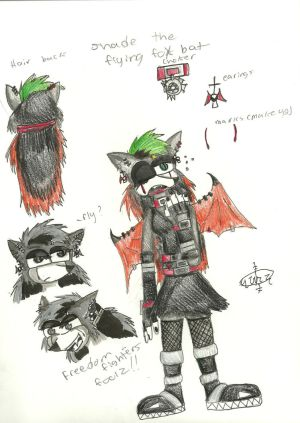 Shade the Flying Fox Bat