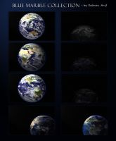 Blue Marble Collection by salmanarif