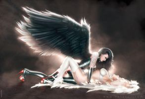 Seducing an angel... by rafater
