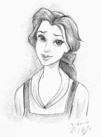 belle doodle by rinnyz