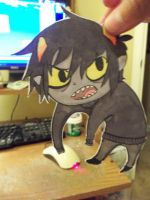 Karkat Paper Child by The-EverLasting-Ash