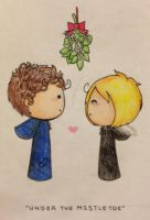 Under the Mistletoe by SuperAelita