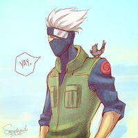 excited Kakashi is excited by SamanthaLi