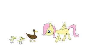 And a little filly shall lead them by Greywander87
