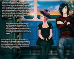 Train Ride-The Party by Tsukiko88