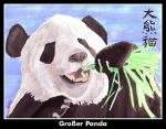 Giant Panda by tainted-pride