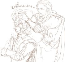 ThorLoki by nairchan