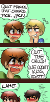 NO HOMO GANG: MISTLETOE ACTION. part III. by TheGweny