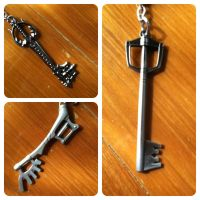 Keyblade Key Chains by hikariyumi92