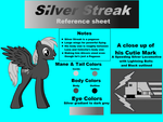 Silver Streak Reference Sheet by Fluttershy-Lover