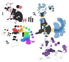 Creature Point/Draw to Adopt Adoptables 5 - GONE by Railguns