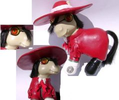 Custom MLP: Alucard by songbird21