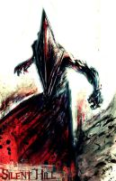 Red Pyramid Thing by theonlyfanever