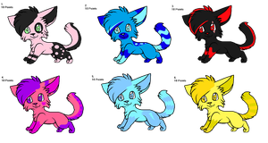 Adoptable batch set 6 (OPEN) by FireBladeFlame