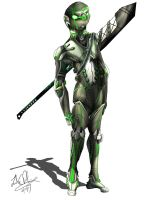 Android Warrior by Sathiest-Emperor