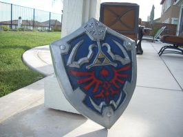 New Hylian Shield by EndoChan