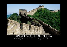 Great Wall of China by Winter-Phantom